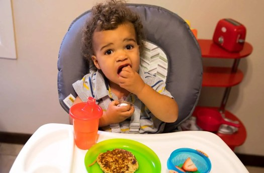 Taking Mealtime to New Heights—the Graco Table2Table 6-in-1 Highchair!—Breakfast at the Palmer House