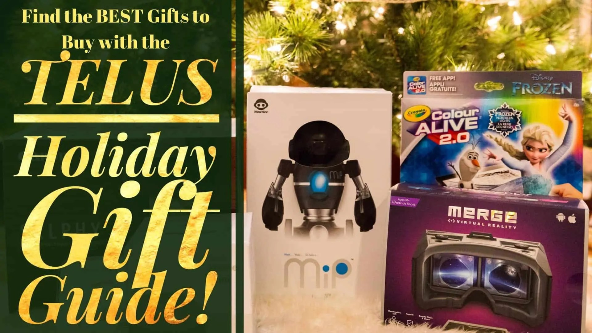 Find the BEST Gifts to Buy with the TELUS Holiday Gift Guide! (Featured Image)