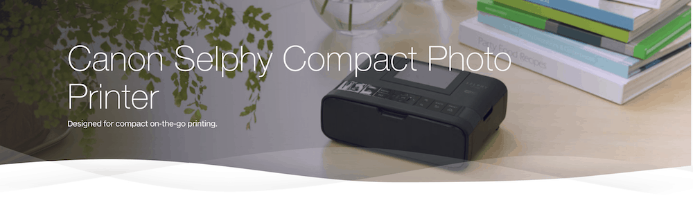 TELUS Holiday Gift Guide — Canon Selphy Compact Photo Printer Header