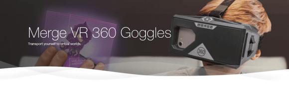 TELUS Holiday Gift Guide—Merge VR 360 Goggles Header
