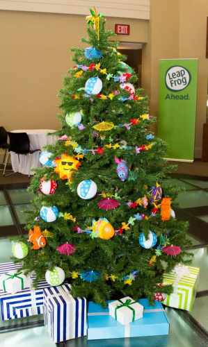 The Casey Palmer, Canadian Dad Christmas Gift Guide for... Kids! — VTech Leapfrog Fall Preview — Summer Christmas Tree