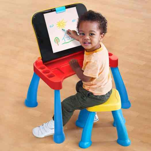 The Casey Palmer, Canadian Dad Christmas Gift Guide for... Kids! — VTech Touch & Learn Activity Desk Deluxe — Easel