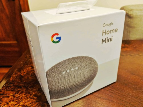 The Casey Palmer, Canadian Dad Christmas Gift Guide... for Grown-Ups! — Google Home Mini