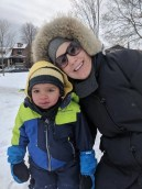 Why My Next Phone HAD to be a Pixel 2 XL — a Casey Palmer x TELUS Joint — Sarah and the Little Guy Tobogganing