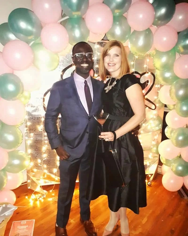 The 2017 100 — 31 Successes. — Casey and Sarah at an East York Children's Centre Fundraiser