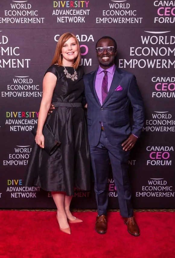 The 2017 100 — 31 Successes. — Casey and Sarah at the Diversity Advancement Network's Black Business Awards