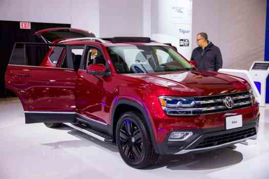 Leave All the Tongues Wagging with a Shiny Volkswagen! — 2018 VW Atlas