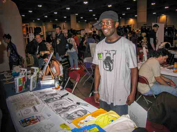 Chatting with Casey 0003—Give Me Some Room to Fail—Casey at FanExpo's Artist Alley