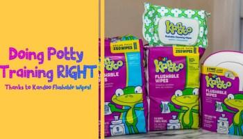 Doing Potty Training Right Thanks to Kandoo Flushable Wipes! (Featured Image)