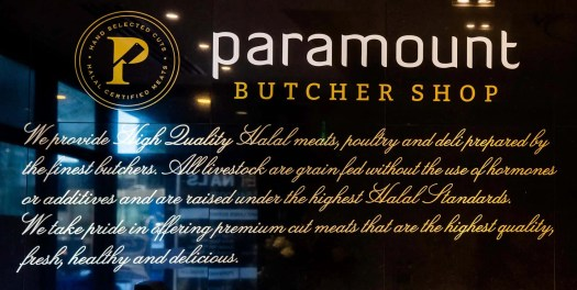 Get Meat That's Sure to Pop at the Paramount Butcher Shop — Paramount Butcher Shop Wall Description