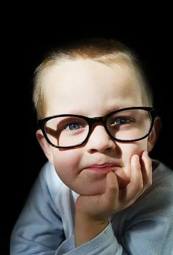 """Score 76 points in Scrabble with """"Ophthalmologist"""" — The Canadian Ophthalmological Society See the Possibilities — Kid With Glasses"""