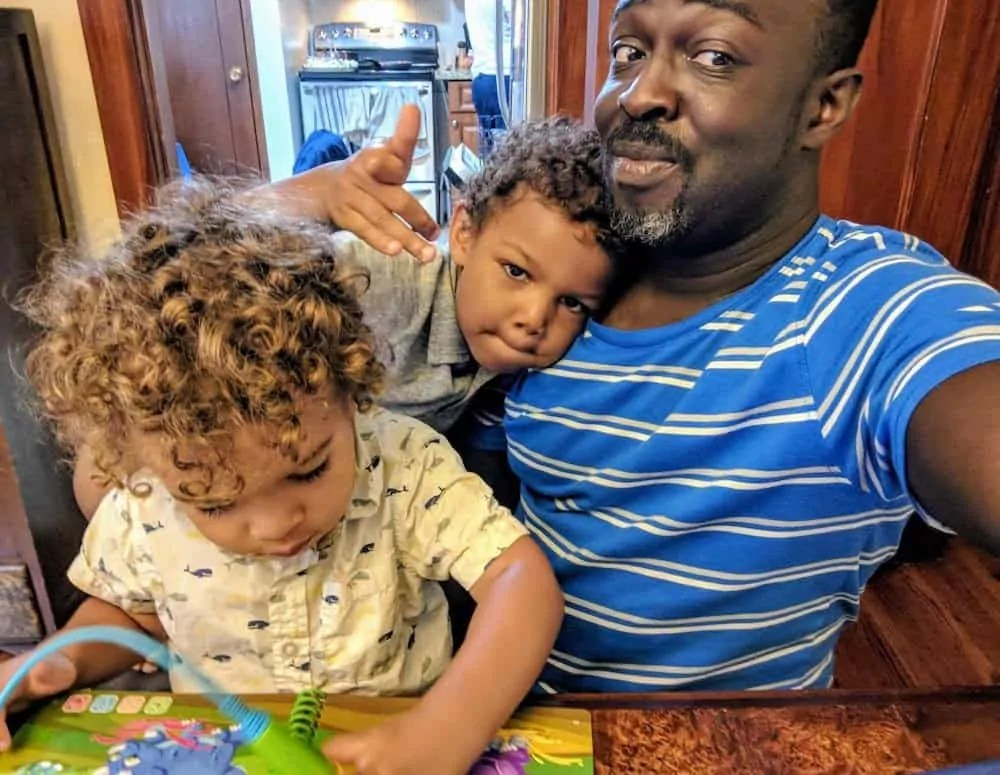 Chatting with Casey 0009 — The Life and Times of the Single Mom — The Palmer Boys