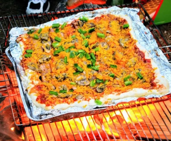 For the Love of Camping, Part One — An Intergenerational Tale of Transformation — Cooking Pizza by Campfire
