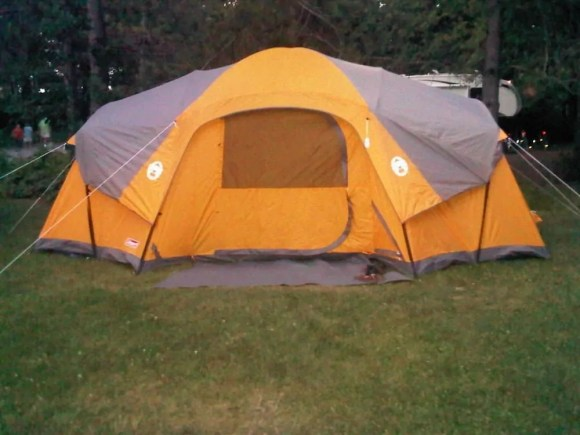 For the Love of Camping, Part One—An Intergenerational Tale of Transformation—Our Coleman Tent, circa 2011