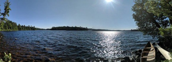 For the Love of Camping, Part Two—A Man and the Mountain that CHANGED Him.—Lake Opeongo Panorama`