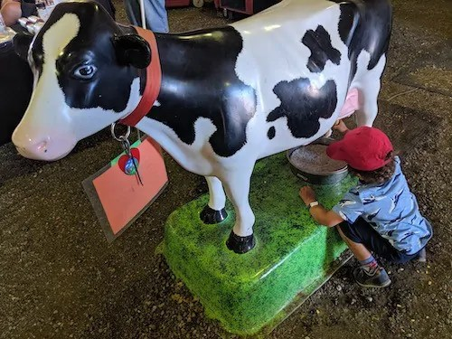 The Life and Times of Casey Palmer—The State of the #BloggerLife, August 2019—Death by a Thousand Paper Cuts—Milking a Fake Cow at the Millbrook Fair