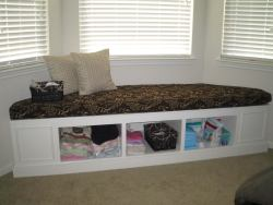 Window Seat- Changing Table