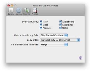 App Preferences