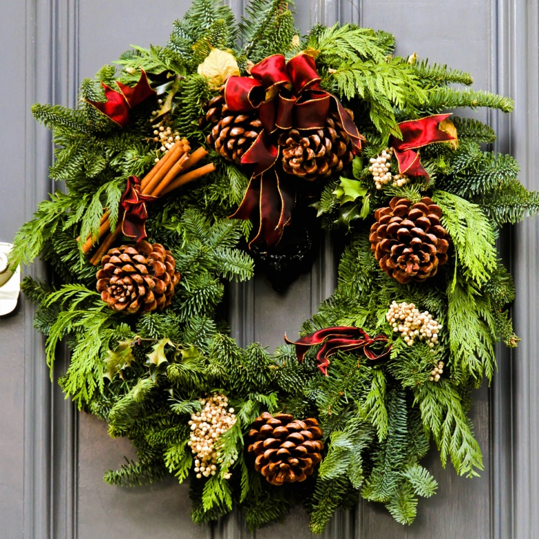 Make & Take A Holiday Wreath