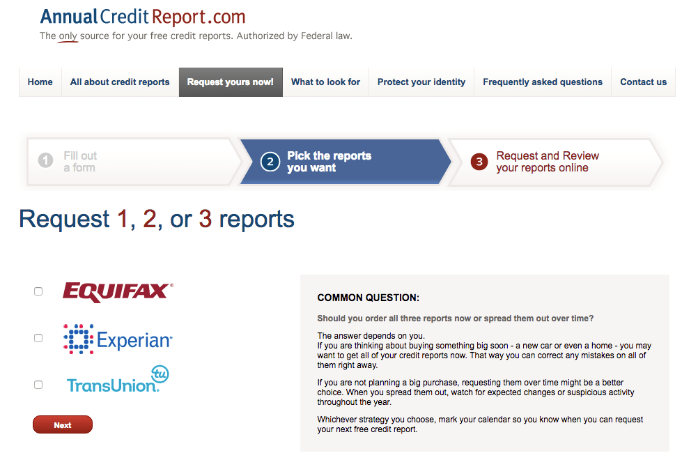 Spot identity theft early. Review your credit reports.
