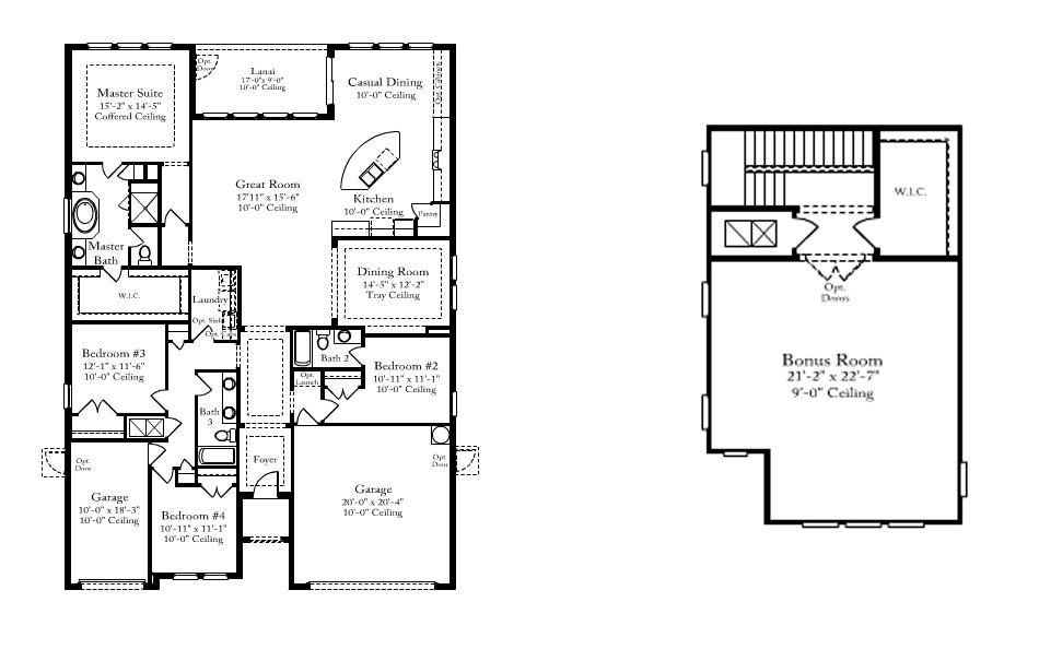 Standard Pacific Homes Brookland Floor Plan