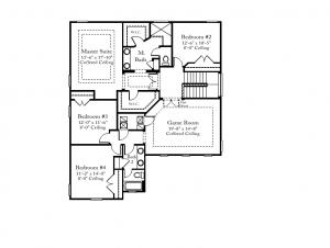 Standard Pacific Venetian Floorplan 2nd Floor