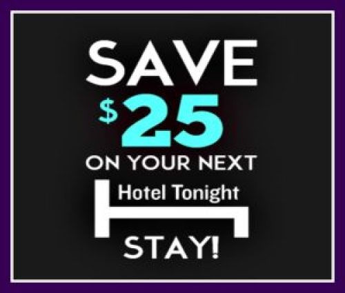 Hoteltonight Promo Code For 25 Off Your Hotel Stay