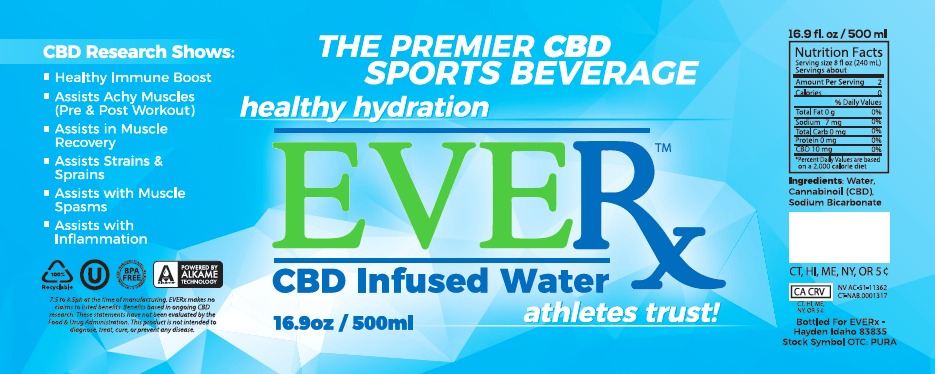 Puration Inc. Launches EVERx CBD Infused Sports Water Campaign On Social Media
