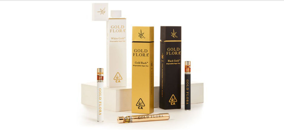 Gold Flora Introduces Three Premium Vape Pens to the California Cannabis Market