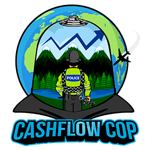 Cashflow Cop Logo - Police Officer Financial Independence Blog