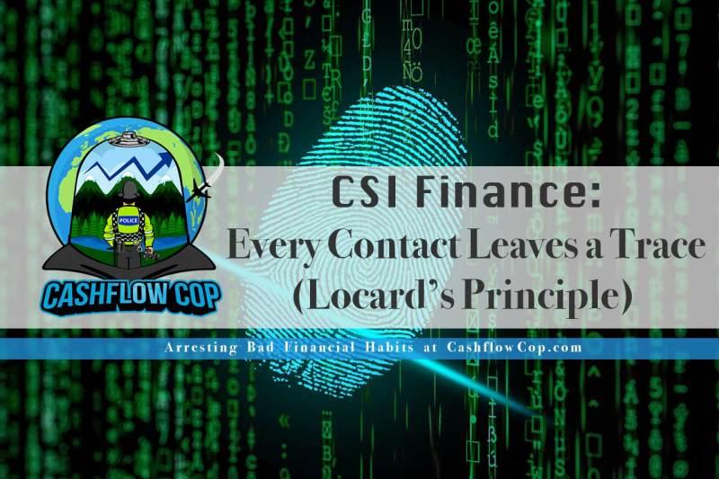 CSI Finance - Cashflow Cop Police Financial Independence