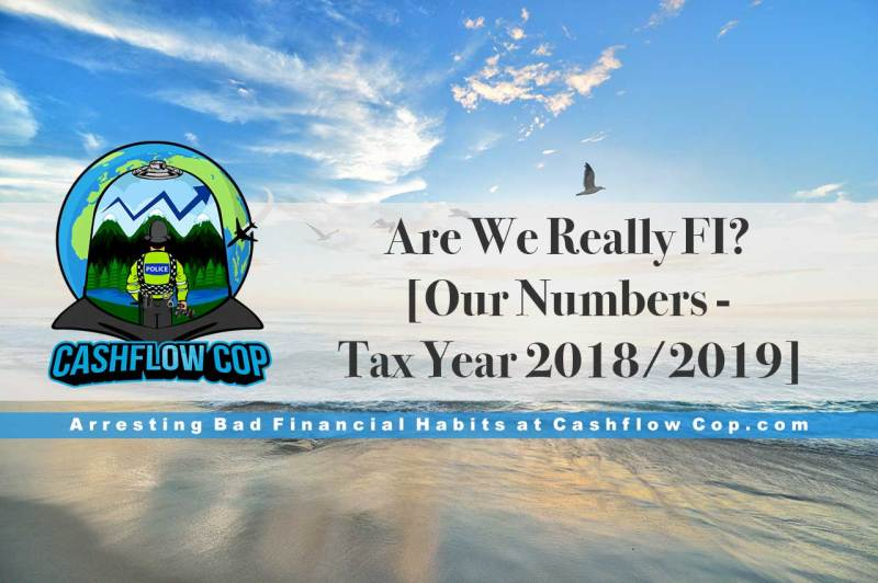 Are We Really FI? Our Numbers 2018/2019 - Cashflow Cop Police Financial Independence