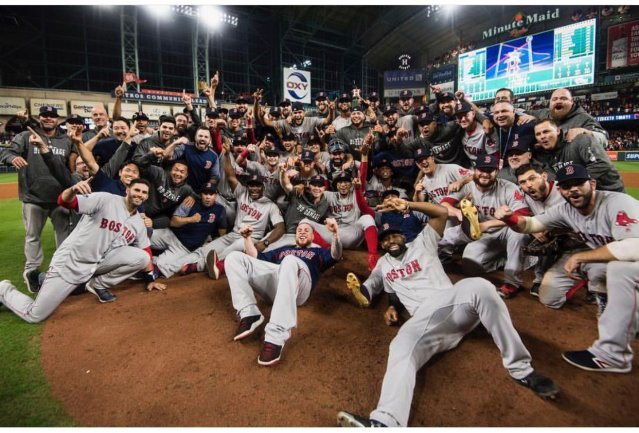 Red Sox to World Series