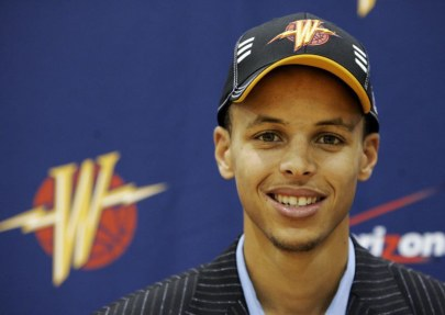 Steph Curry Draft
