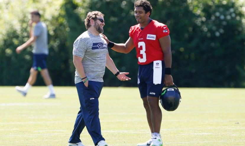 NFL: Seattle Seahawks-Minicamp