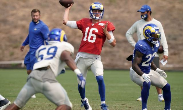 NFL: Los Angeles Rams-Training Camp