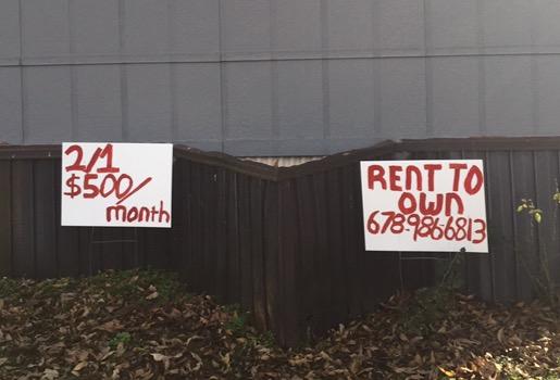 Advertising your rentals