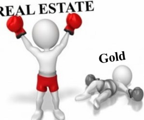 Is gold a better investment than real estate?
