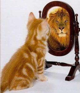 look at yourself