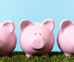 The three piggy banks