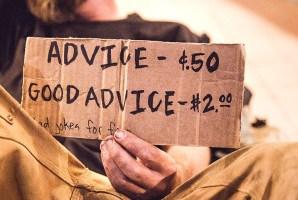 Seek out good advice