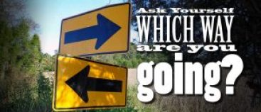 What direction are you going?