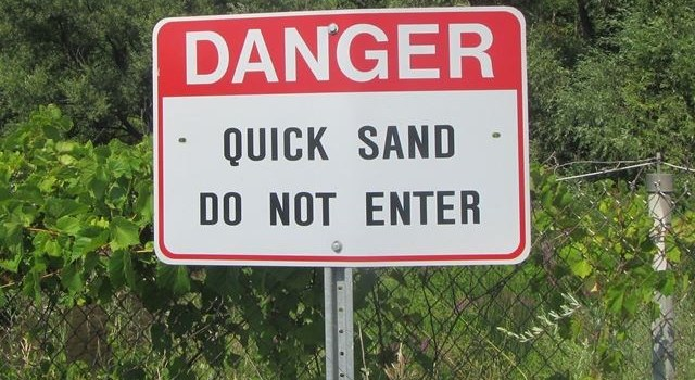 Mental quicksand
