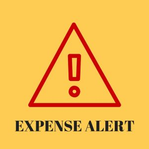 Don't forget to remember your expenses