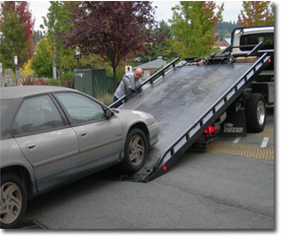 Salvage auto
