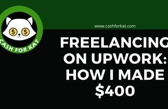 Freelancing on Upwork with CashforKat