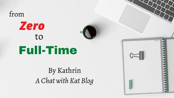 full-time income with a chat with kat blog