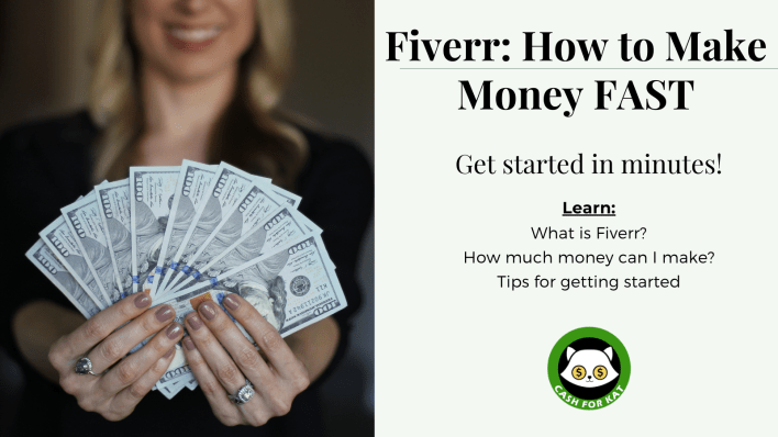 Fiverr: How to Make Money FAST