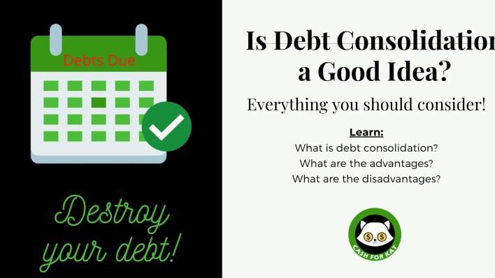 Is Debt Consolidation a Good Idea?