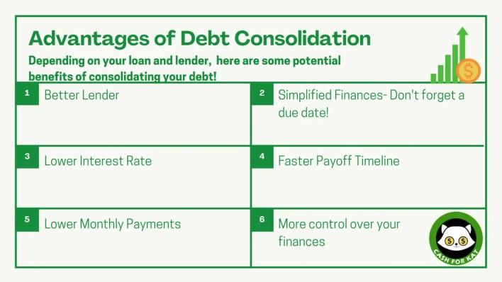 Advantages of Debt Consolidation